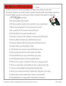 week 11 worksheet of jokes for reviewing and reinforcing the indefinite pronouns cc cycle 2. Black Bedroom Furniture Sets. Home Design Ideas
