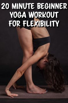 Looking for a beginner yoga workout for flexibility? These yoga poses will help you improve flexibility, relieve aches and pains, and so much more! Pilates Workout, Beginner Yoga Workout, Pilates Video, Beginner Pilates, Pop Pilates, Beginner Yoga Video, Pilates Yoga, Pilates Reformer, Yoga Videos For Beginners