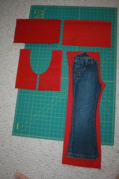 perfectly fitting pants {kids} tutorial to sew