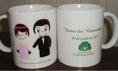 Caneca personalizada para casamento - R$10.00