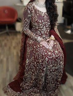 New Bridal Dresses, Bridal Outfits, Wedding Dresses, Pakistani Wedding Outfits, Pakistani Dresses, Bridal Dress Design, Bridal Style, Bling Dress, Nikkah Dress