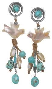 Image result for nature bijoux earrings