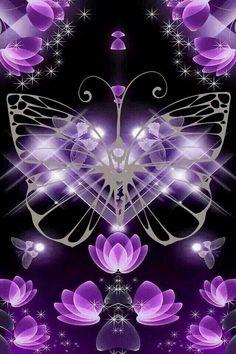 Butterfly Wallpaper...By Artist Unknown...