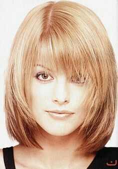 Shaggy Bob Medium Straight Synthetic Hair With Bangs Capless Wigs 12 Inches Synthetic Wigs Mid Length Hair, Shoulder Length Hair, Medium Hair Styles, Short Hair Styles, Hair Medium, Medium Long, Medium Bob Bangs, Angled Bangs, Great Hair