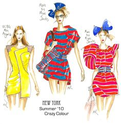 fashion illustrations marc jacobs - Buscar con Google