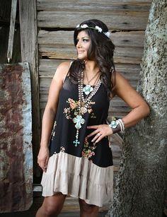 Chic Floral Dress – The Unbridled Boutique