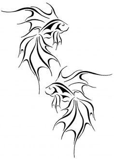 Fantasy Goldfish Drawing  - Fantasy Goldfish Fine Art Print