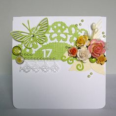 my card - flowers