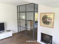 Deuren / Stalen deuren met boven- en zijlicht in Zeist