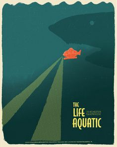 The Life Aquatic by Wes Anderson - Poster by J. Chris Schwartz