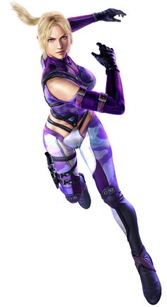 View an image titled 'Nina Williams Art' in our Tekken 6 art gallery featuring official character designs, concept art, and promo pictures. Video Game Characters, Female Characters, Female Character Design, Character Art, Tekken Girls, Street Fighter Tekken, Female Martial Artists, Tekken 7, Naruto Vs Sasuke