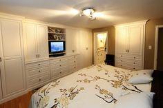 Master Suite - traditional - bedroom - toronto - Schnarr Craftsmen Inc