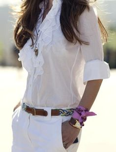 whites + great details