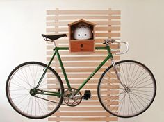 good ideas to store a bike inside an apartment