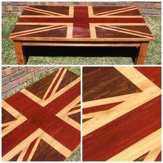 Union Jack Coffee Table DIY