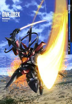 Mobile Suit Gundam 00 - GNX-U02X Masaurao