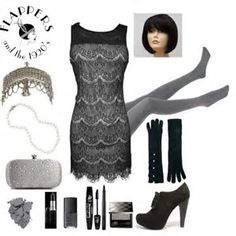 Image result for DIY Costume Ideas Roaring 20s