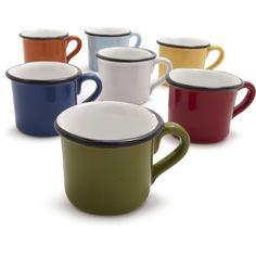 italian espresso cups...saw these at Sur La Table!