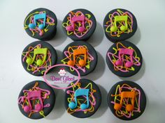 Cupcakes Neon                                                                                                                                                                                 Mais
