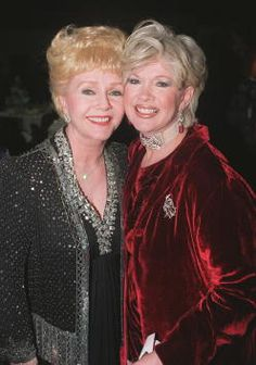 debbie reynolds images on getty | 12/99 Jackson Hole, WY. Debbie Reynolds with Connie Stevens at ...