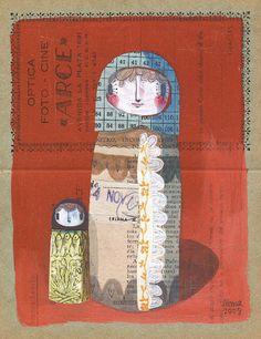 Gustavo Aimar: Inspiration for mixed media DIY Postcards