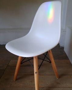 Children Eames Eiffel...rainbow days. #inspiration. #eames. #midcentury. #modern .