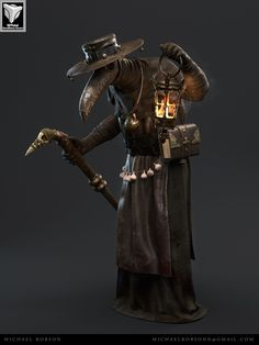 My name is Michael Robson, I started doing at the beginning of the year and I would like some feedback about my art… This one is my first cinematic character, based on the Plague Doctor concep… Plague Mask, Plague Doctor Mask, Plague Dr, Black Death Plague Doctor, Plauge Doctor, Doctor Tattoo, Doctor Drawing, Doctor Costume, Landsknecht
