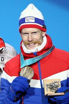 SKI JUMPING MEN'S NORMAL HILL:  Bronze medalist Robert Johansson of Norway