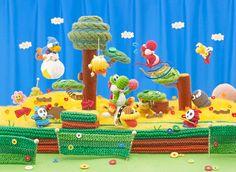 Yoshi's Woolly World Artwork via: http://nintendoeverything.com/