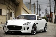 Jaguar F-Type this thing sounds like an American muscle car with the styling of British sports cars. Great mix!