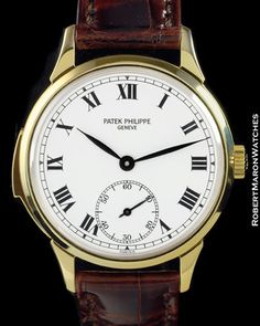 Patek Philippe Minute Repeater 3979 18K Automatic Enamel Dial 1989 | eBay