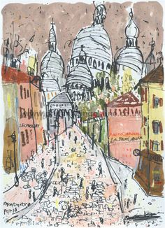 printmakingonline.co.uk: Sacre Coeur Montmartre Paris