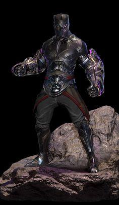 Marvel Comic Universe, Marvel Comics Art, Marvel Heroes, Marvel Characters, Black Panther Art, Black Panther Marvel, Marvel Concept Art, Spiderman Art, Superhero Design