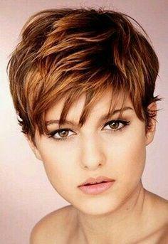 Short hair.....