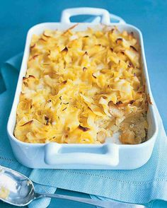 Noodle Kugel: Somewhat sweet and a bit savory, kugels can be served as side dish or a breakfast treat.
