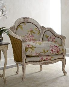 "Old Hickory Tannery ""Fiore"" Chair ... Just Too Cute!"