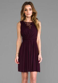 Bailey 44 Dark Seduction Dress in Port