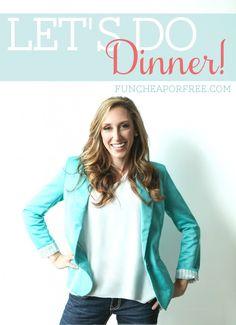 Let's do dinner together!