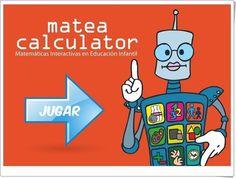 """""""Matea Calculator"""" es una aplicación, de educarex.es, que trata todos los aspectos de las Matemáticas en Educación Infantil de modo interactivo con el alumno. Con tres niveles: para Educación Infantil de 3, 4 y 5 años. Preschool Spanish, Teachers Pet, Dual Language, Computer Lab, Teaching Math, Maths, Calculator, Tic Tac"""