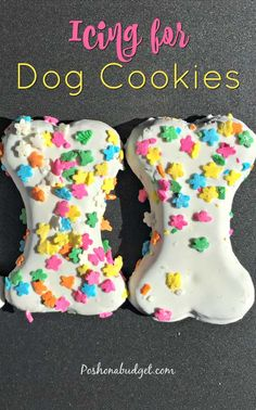 How to make icing Dog Cookies #dog #pets #yummy #popular #trending #pinterest