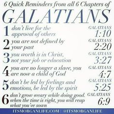 The book of Galatians is one of my favorite books of the bible. It is very clear that the Apostle Paul wanted to help the Galatians get it right. He wanted them to see the importance of not falling… The Words, Christian Life, Christian Quotes, Christian Apps, Bible Scriptures, Bible Quotes, Scripture For Teachers, Quotes From The Bible, Lyric Quotes