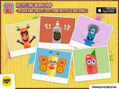Available on the App Store https://itunes.apple.com/us/app/recycling-workshop-design/id880330071