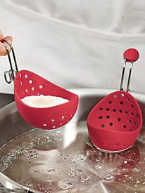 Cuisipro Egg Poacher (set of 2)  GOTTA GET THIS!