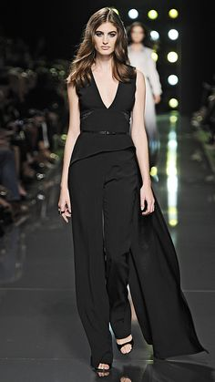 Elie Saab Spring/Summer 2015 via @stylelist | http://aol.it/1pxsP16
