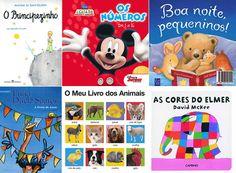 10 livros para oferecer no aniversário do seu bebé