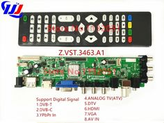 Cheap ship, Buy Directly from China Suppliers:Ship in 1 day Universal LCD Driver Board Support Universal TV Board 3663 Tv Tuner Card, Dvb T2, Dtv, Russian Language, Bar Lighting, Consumer Electronics, Boards, Tv Board, Digital