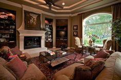 private residence san antonio - traditional - family room - other metro - Allegro Limited