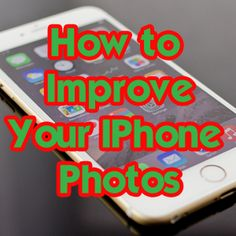 Tips and tricks for taking better photographs with your iPhone