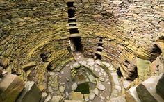 Mousa, Shetland, Scotland | The mother of all Iron Age brochs, on an island off the coast of Shetland.