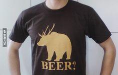 Deer? Bear? Beer!